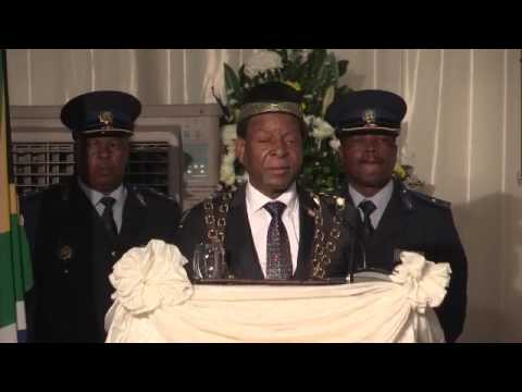 King Goodwill Zwelithini addresses KZN legislature