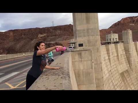 "Water ""Defies Gravity"" at the Hoover Dam"