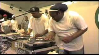 DJ Premier VS. DJ Scratch in RedHook Park, Brooklyn