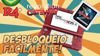 NINTENDO 3DS XL  - COMO DESBLOQUEAR FACILMENTE COM SKY3DSPLUS