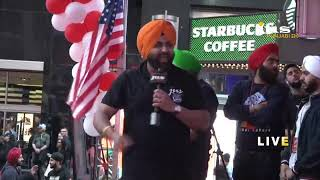 Turban Day LIVE from Times Square