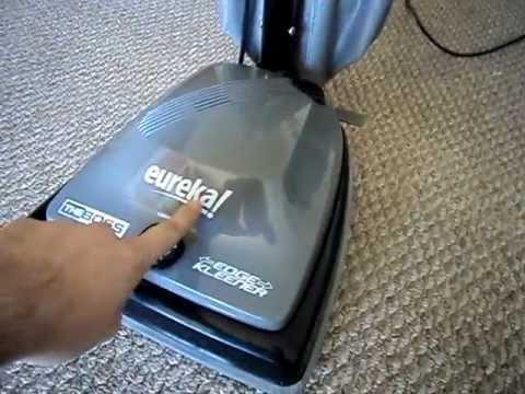 Eureka The Boss Upright Vacuum Cleaner Youtube