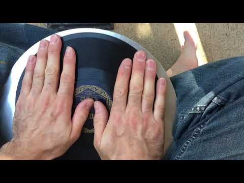 78rpm Record Repair - Closing A Widened Crack