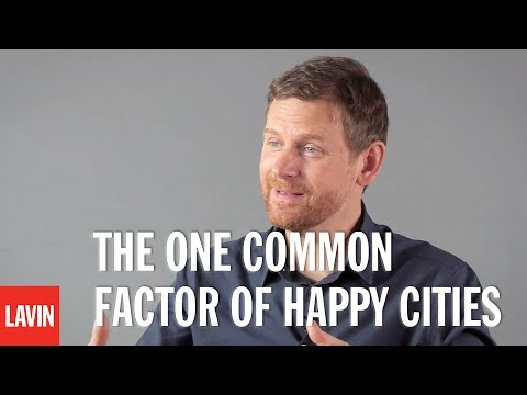 Charles Montgomery: The One Common Factor of Happy Cities