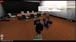 Interviews at Roblox FBI Center [USA]