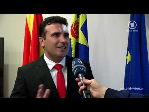 """Zoran Zaev im ARD Interview: """"Mazedonien hat nur die europäische Perspektive"""""""