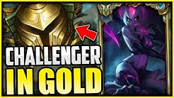 CHALLENGER EVELYNN SHOWS YOU HOW TO 1v5 CARRY LOW ELO - League of Legends
