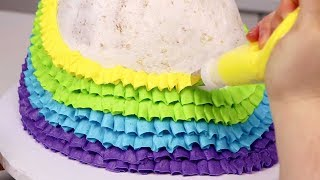 10 MORE AMAZING ways to ice a CAKE Compilation!