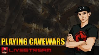 Minecraft Xbox 360 - PLAYING CaveWars With Subscribers!