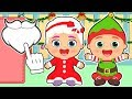 👶 BABY ALEX AND LILY 👶 Special Christmas Costumes of Mrs Claus and Elf | Cartoons for kids