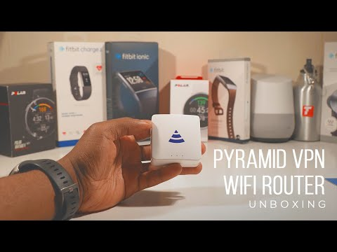 Pyramid Wifi Router Unboxing
