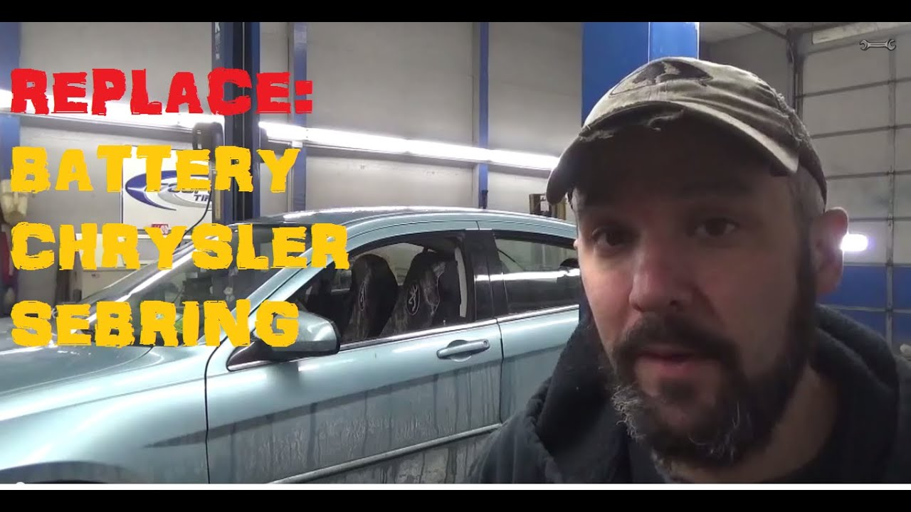 How To Replace Battery Chrysler Sebring