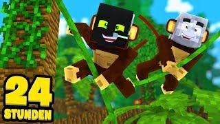 24 STUNDEN als AFFEN LEBEN?! - Minecraft [Deutsch/HD]