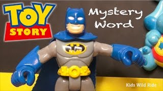 Batman Toys, BLUES CLUES Episode ABCs How-To Spell Alphabet for Kids, Pre School, Toy Story 4 Toys