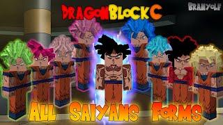 Dragon Block C : All Saiyans Forms ! DBC 1.4.64