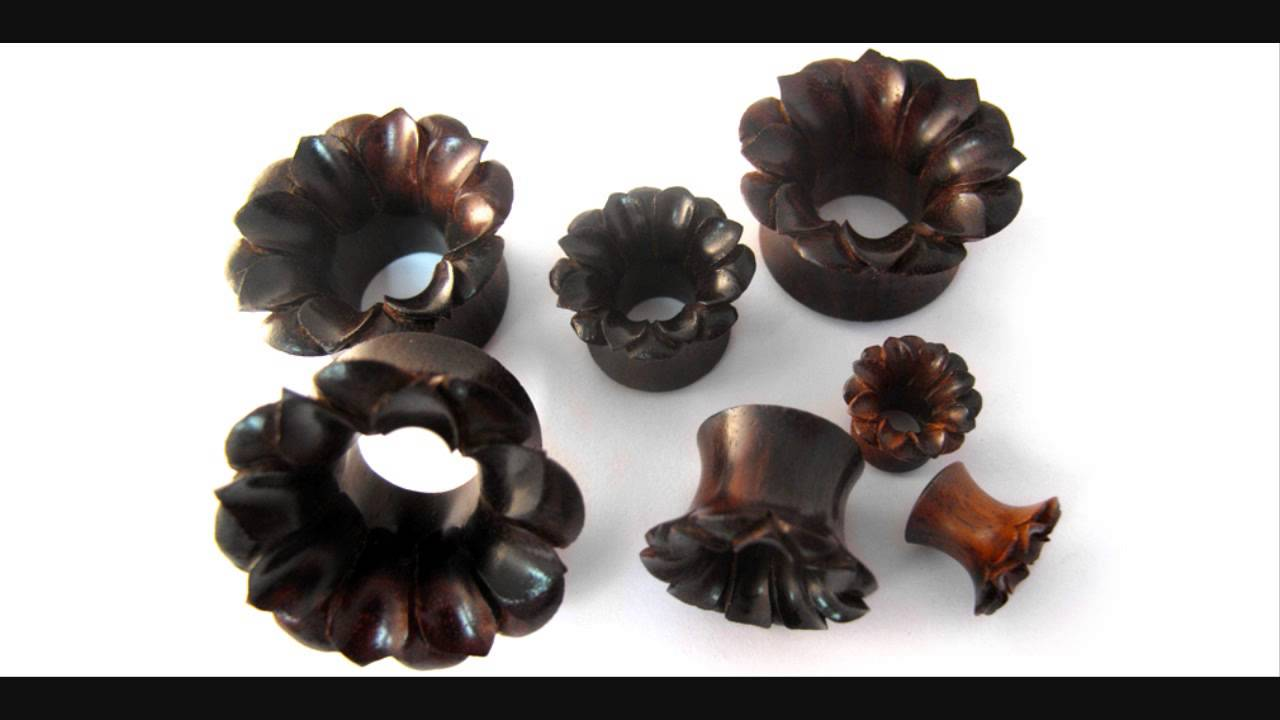 Lotus flower sono wood tunnel plugs 0g 1 inch youtube lotus flower sono wood tunnel plugs 0g 1 inch mightylinksfo