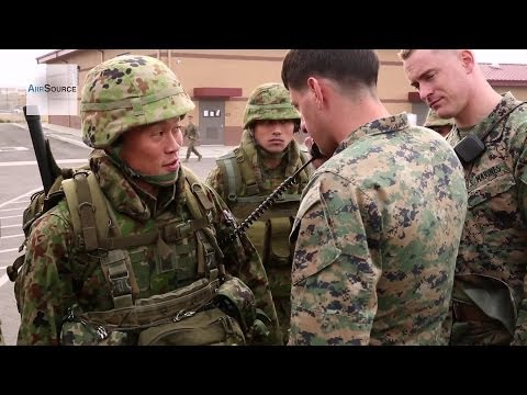 U.S. Marines, Japan Self-Defense Force Conduct Fire-Support Exercises