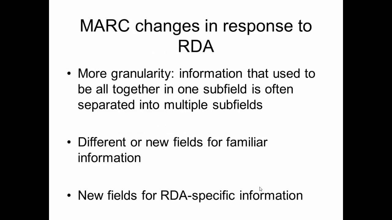 rda thesis cataloguing