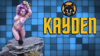 kayden from hasslefree miniatures kujo painting showcase
