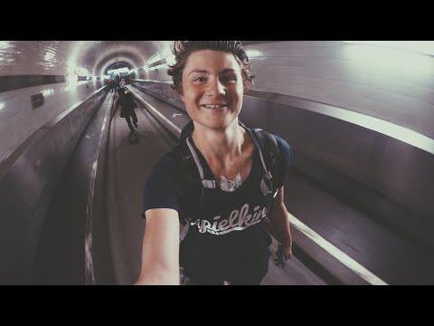 Mit SEX BOMB durch den Elbtunnel! | Longboard Tour Tag 9 | Dner