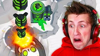 The Most POWERFUL Ultra Boosted Tower In BTD 6?! | INSANE Mortar Monkey in Bloons TD 6!
