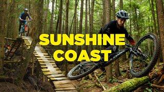 Scary Skinnies & Fast MTB Trails   Sunshine Coast