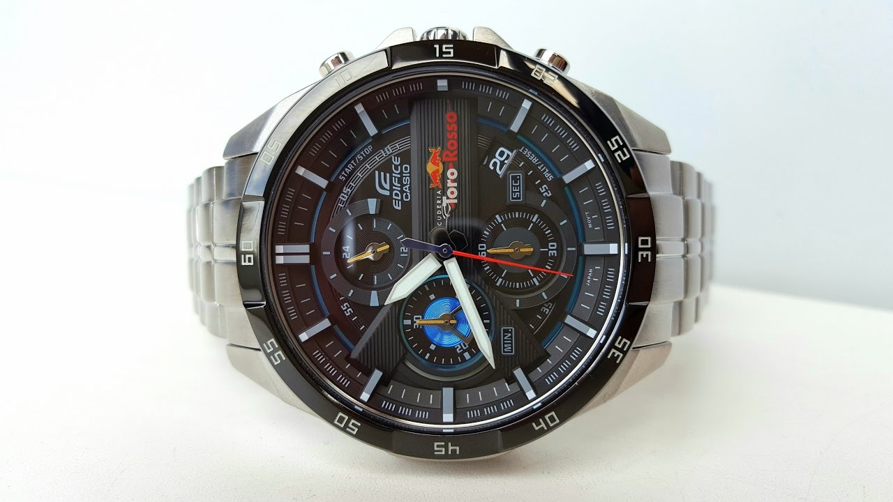 Scuderia Toro Rosso Limited Edition. Casio Edifice EFR 556TR
