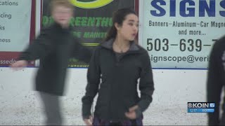 Karen and Nathan Chen offer guidance to young skaters