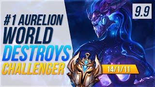 #1 Aurelion Sol World shows how to get a kill on EVERY roam - League of Legends Patch 9.9
