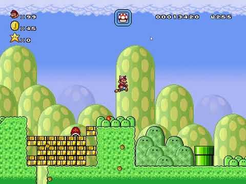 Super Mario Bros. X2 Beta 4 - Super Mario Bros. 2020: Athletes' Grasslands (World 1-5)