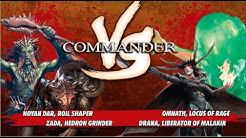 Commander VS S1E5: Noyan Dar vs Zada vs Omnath vs Drana [MTG Multiplayer]