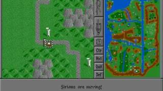 Warlords (DOS) - Game Play