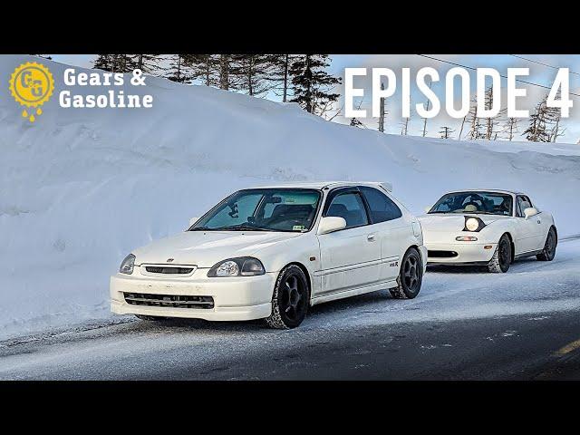 7,000 Mile Roadtrip in a Civic and Miata - Episode 4