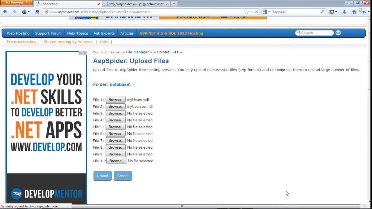 Хостинг asp net бесплатно взлом почты через хостинг