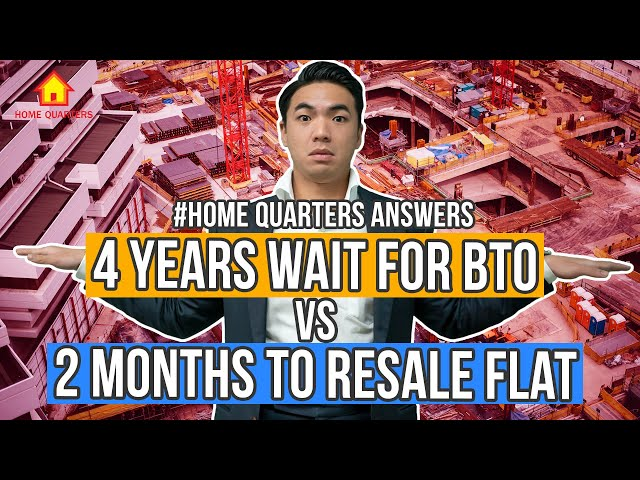 BTO vs Resale HDB Flat Guide [WHICH ONE TO PICK?] | Home Quarters Answers Ep19