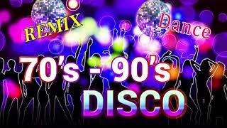 Eurodisco 70's 80's 90's Super Hits 80s 90s Classic Disco Music Medley Golden Oldies Disco Dance #29 - 70 80 90 disco music hits
