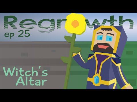 Witch's Altar - Ep. 25 - Minecraft FTB Regrowth Modpack [1.7.10] Let's Play