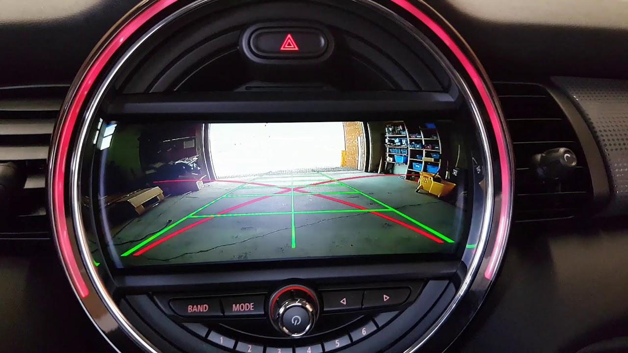 Mini Cooper BMW >> Installation Oem fit backup reverse camera 2017 mini Cooper - YouTube