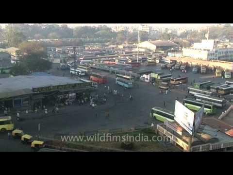 Kempegowda or Majestic Bus Station, Bangalore