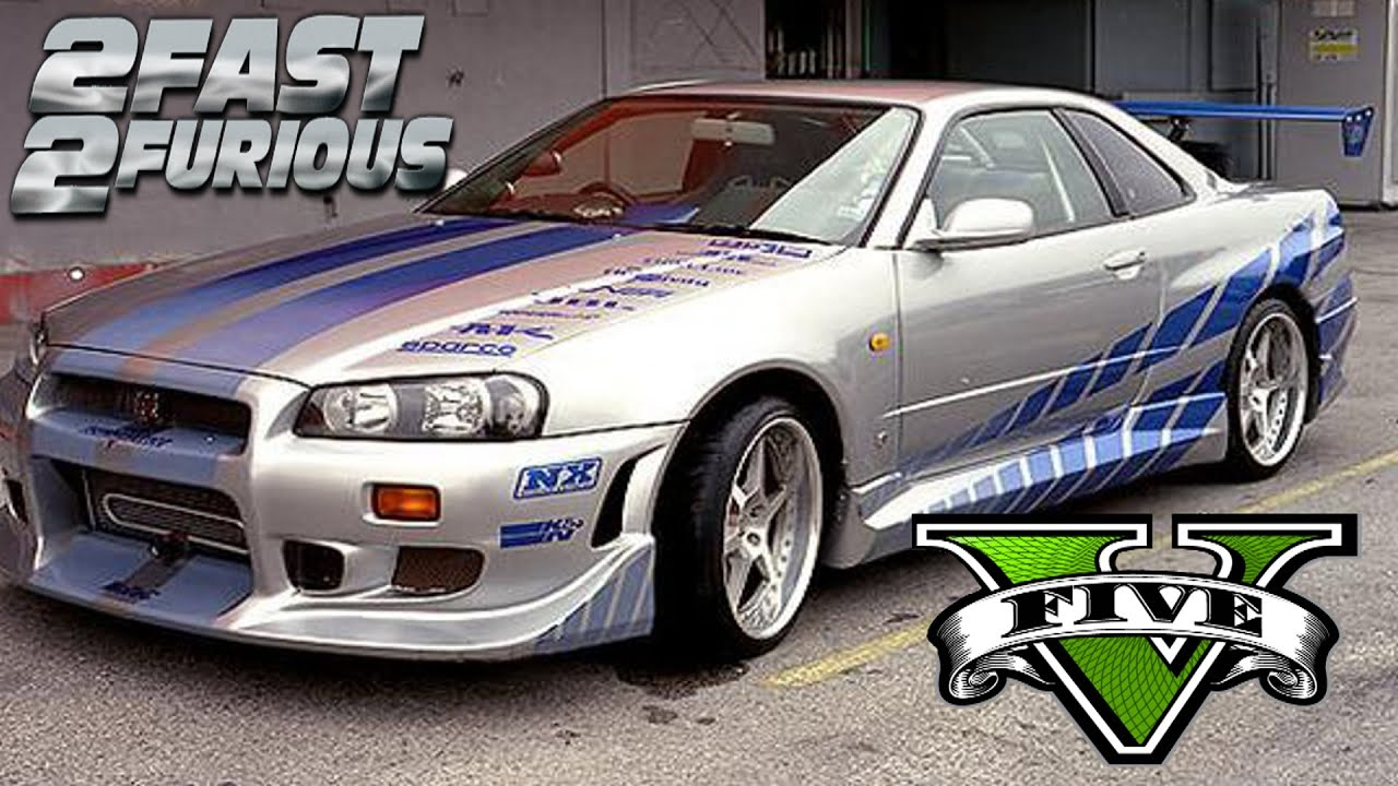 nissan skyline 2 fast 2 furious images galleries with a bite. Black Bedroom Furniture Sets. Home Design Ideas
