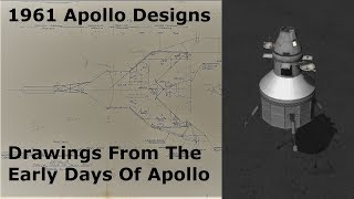 Apollo Design Concepts From 1961 - Original Drawings Revealed Video