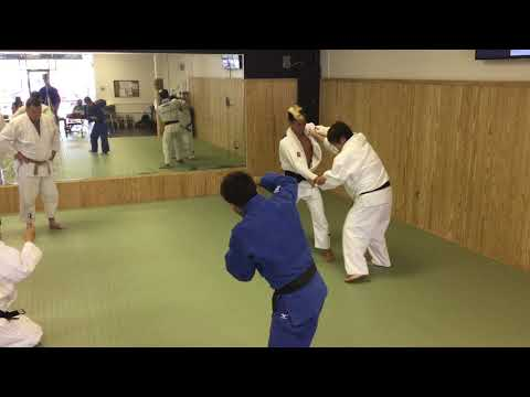 Harai-Goshi vs Lefty with former World Champion and Olympic Medalist Mika Sugimoto