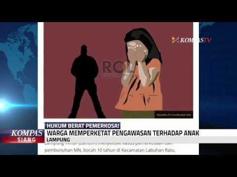 Bocah 10 Tahun Diperkosa, Warga Lampung Resah
