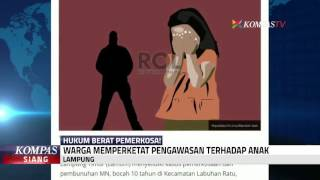 Download Video Bocah 10 Tahun Diperkosa, Warga Lampung Resah MP3 3GP MP4