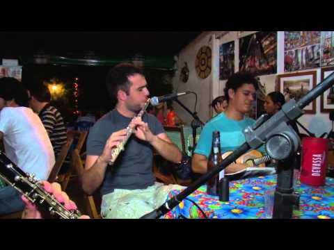 Doce de Coco de Jacob com Nonato acordeon Giltácio clarinete e Ian flauta