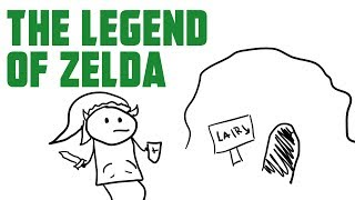 The Legend of Zelda - Poorly Drawn Video Games