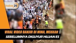 Viral Video Banjir Di Mina Mekkah