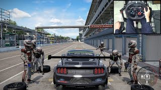Ford Mustang GT4 - Project CARS 2 | Logitech g29 gameplay