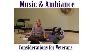 Considerations for Veterans in your Yoga Classes