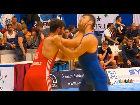 11th World University Wrestling Championship 2014 - Pécs - Hungary